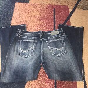Men's BKE Jeans Tyler boot leg 38 R NWOT